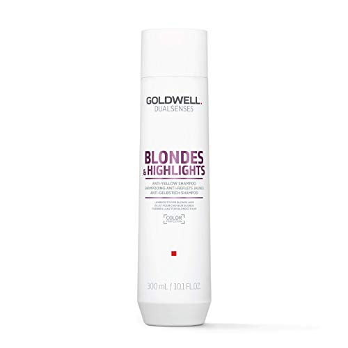 Goldwell Dualsenses Blondes & Highlights Anti-Yellow Shampoo for Unisex, 10.1 Ounce