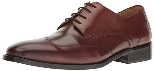 Kenneth Cole Men Leisure-Wear Derby Brown (Cognac 901)