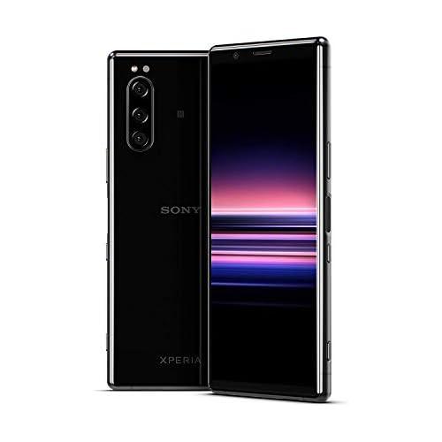 chollos oferta descuentos barato Sony Xperia 5 Smartphone de 6 1 21 9 CinemaWide Pantalla OLED Full HD Cámara Triple Objetivo y Eye AF 6GB 128GB Bluetooth Android Negro