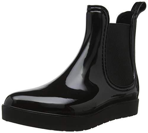 Black Buffalo Tc Schwarz Aqua 00 PVC Damen Stiefeletten rY5fwrq