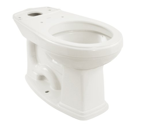 Promenade Round Toilet Bowl - TOTO C423EFG#01 Promenade Universal Height Round Front Bowl With Sanagloss, Cotton White