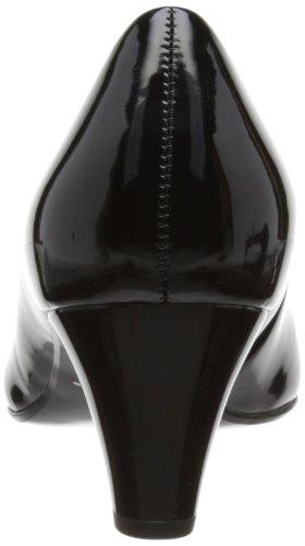 Gabor Vesta 2 Pat - zapatos de vestir de cuero mujer negro - negro