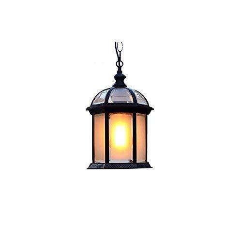 Impervious to The Outside, Outdoor Courtyard Garden Chandelier Trellis of Grape Pavilion Chandelier Balcony Aisle Corridor Single Head of Lamp E27 Color: Select (# 2) (Color : #2)
