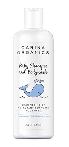 Carina Organics Baby Shampoo and Body Wash 8.4 Oz