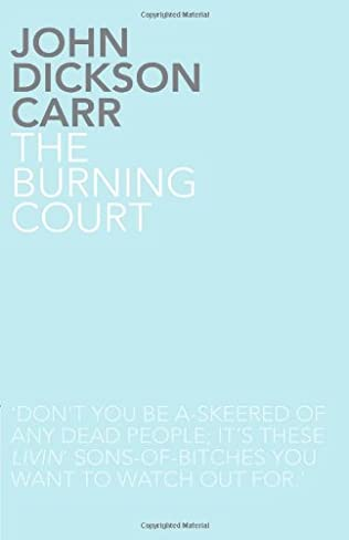 book cover of The Burning Court