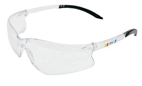 Encon Nascar GT Safety Glasses, Clear lens