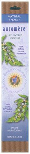 Auromere Ayurvedic Incense, Mattipal (Peace)