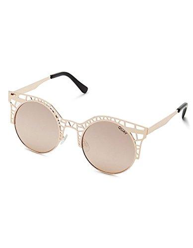 QUAY Fleur Sunglasses, Rose - Fleur Sunglasses