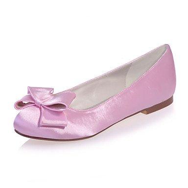 5 Shoes Round Wedding amp;Amp; Colors UK3 CN35 Women'S Eveningshoes Flat Toe Party Available More Satin 5 Flats EU36 US5 Heel d4xqwqZIR