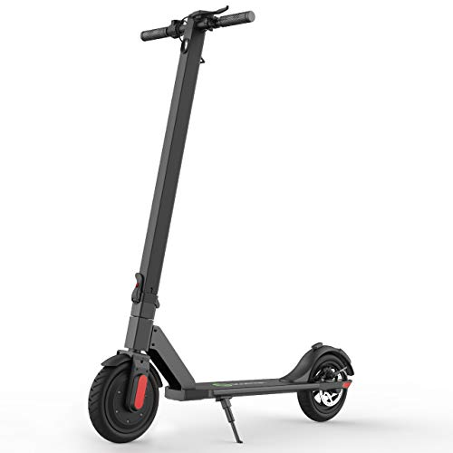 MEGAWHEELS S5 Electric Scooter, 13 Miles Long Range Battery, Up to 15.5 MPH, 8.5″ Pneumatic Tires, Portable and Folding Commuter Electric Scooter for Adults