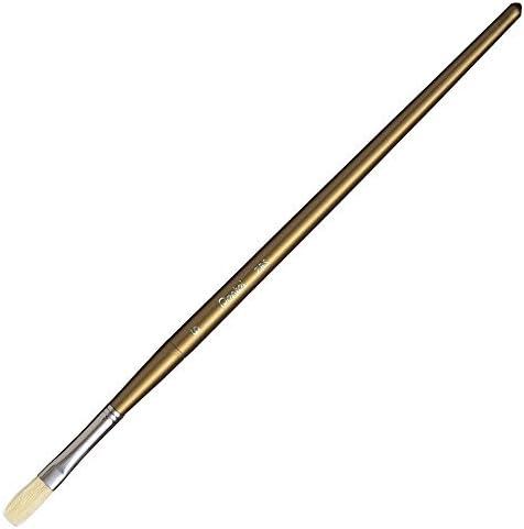 ぺんてる 高級画筆[豚毛] 平筆 6号 ZBS4-6 00806809 【まとめ買い10本セット】