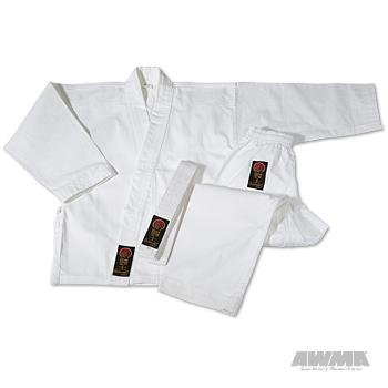 ProForce Gladiator 7.5 oz. Karate Uniform - White - Size 4 (Gi Gladiator)