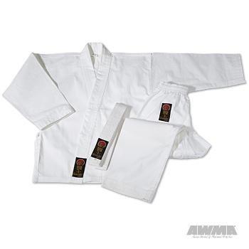 ProForce Gladiator 7.5 oz. Karate Uniform - White - Size 4 (Gladiator Gi)