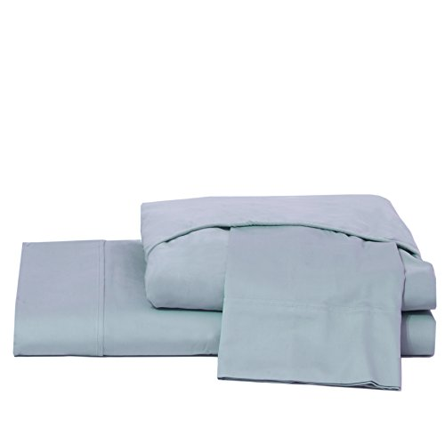 Grayson Home Luxury Bed Sheets Set - 600 Thread Deep Pocket 100% Cotton Egyptian Like Quality - King, Dusty Blue by Grayson Home