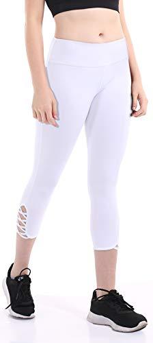 fafa5d71a5fea Heat Move Women Capri Yoga Pants with Pocket 4 Way Stretch Moisture Wicking  Leggings