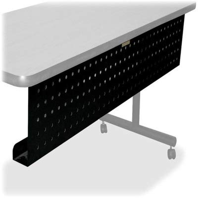 (Lorell LLR60684 Rectangular Training Table Modesty Panel, 1.97