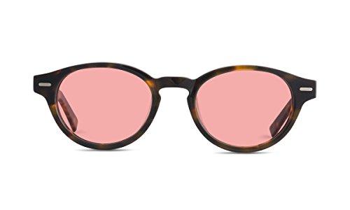 Keaton TheraSpecs Migraine Relief Glasses (Indoor Lenses, Tortoise) by TheraSpecs