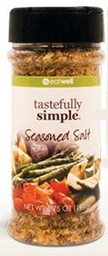 Tastefully Simple - Seasoned Salt - (No msg) Perfectly Blended (Ships for Free!)