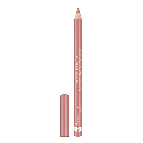 Rimmel Lasting Finish 1000 Kisses Lip Liner, Blushing Nude, 0.04 Fluid Ounce