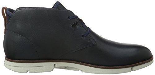 Clarks Trigen, Botines para Hombre Azul (Navy Leather)