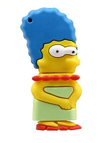 - Marge Simpson Cartoon 16GB USB Flash Thumb Drive Storage Device