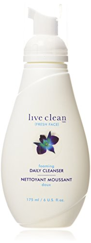Live Clean (Fresh Face) foaming daily cleanser, 175ml