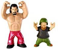 WWE Rumblers The Great Khali and Hornswoggle Figure 2-Pack
