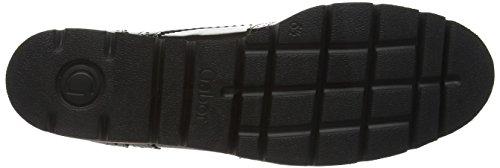Gabor Comfort Basic - zapatos de tacón cerrados de cuero mujer Gris (s.s/c 13)