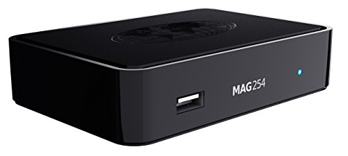 - For Mag 254 Media Player 12-months Subscription(without equipment)