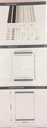 Dachfenster Fliegengitter /& Sonnenschutz Kombi Plissee Insektengitter