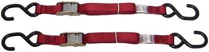 Ancra 40888-10-04 Red Original Premium Cam Buckle Tie Down 8 Pack