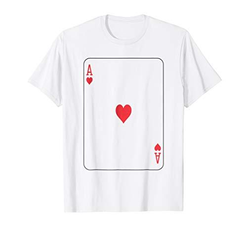 Ace of Hearts T-Shirt Group Halloween Costume Idea