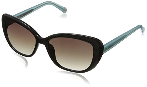 Fossil Women's FOS3002S Cateye Sunglasses,Black,55 - 2014 Sunglasses Women
