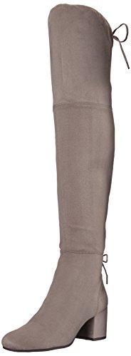 Stretch Microsuede von Edelman UK Overknee Sam Virginia Circus Grey Stiefel Womens 11 Frost Schwarz nBzSxTnHW8