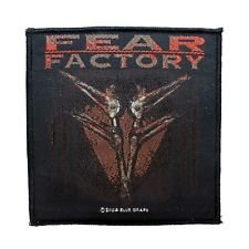 Mia_you Fear Factory Archetype Patch Album Art Metal Band Jacket Woven Sew On Applique by Mia_you