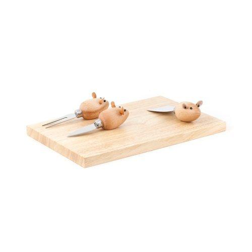 (3 Blind Mice cheese board set)