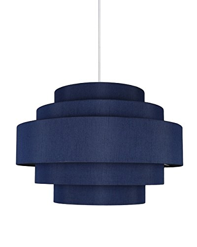 Navy Blue Pendant Light in Florida - 1