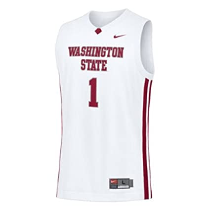 Image Unavailable. Image not available for. Color  Nike Washington State  Cougars Basketball Jersey - Men ... e7af24f07