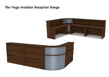 Vega Walnuss Modular Schreibtisch Selbst Gestalten Abbildung