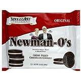 Newman's Own Organic Cookie O Chocolate Vanilla Creme, 13 oz