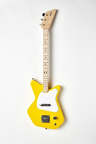Loog Pro Electric Guitar, Children, Teens, Beginners, (Yellow)