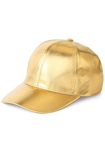 Balera Metallic Baseball Cap Dance Costume Accessory