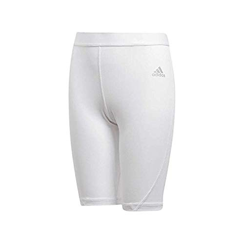 adidas Youth Alphaskin Sport Compression Shorts (X-Large) White by adidas