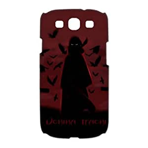 Custombox Uchiha Itachi Samsung Galaxy S3 I9300 Case Hard Case Plastic Hard Phone Case-Samsung Galaxy S3-DF00687