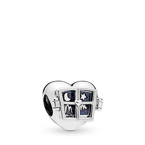 PANDORA Window Heart 925 Sterling Silver Charm - 798006EN63 from PANDORA