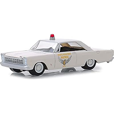 Greenlight 42880-A Hot Pursuit Series 31-1965 Ford Custom - Ohio State Highway Patrol 1:64 Scale: Toys & Games