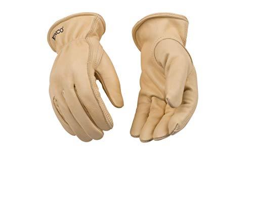 (Kinco 98-L-1 Unlined Grain Cowhide Glove, 12