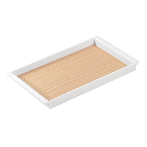 InterDesign RealWood Cosmetic Organizer Products