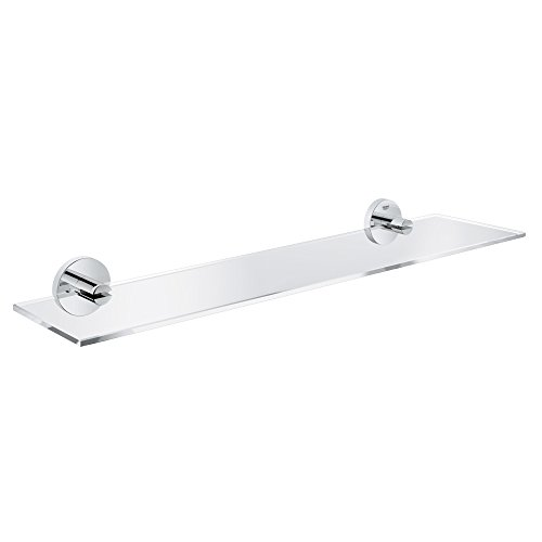 GROHE 40799001 Essentials Shelf, 380mm, Starlight Chrome by GROHE