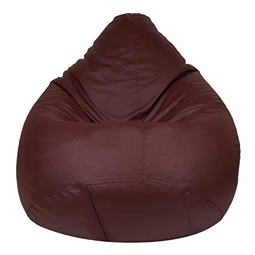 Skyshot Classic Bean Bag Cover Without Beans  XXXL, Maroon